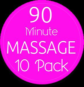 10-90 min massage pak gv